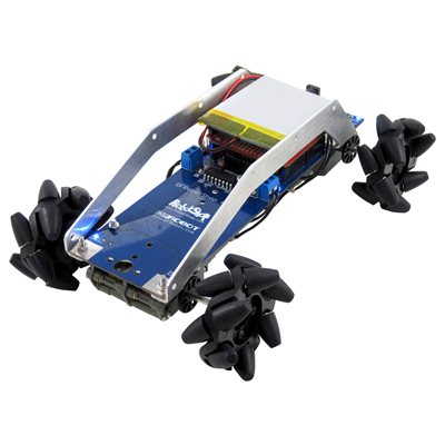 Mecanum Wheel Robot - Bluetooth Controlled Mecanum wheel