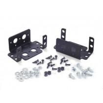 Aluminium Multi-Purpose Rotate Servo Bracket Two Pack (Black)