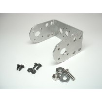Morfecs Aluminium Small U Servo Bracket [MB-003]