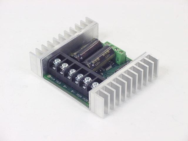 Sabertooth 2x25 regenerative dual channel motor controller for Regenerative dc motor control