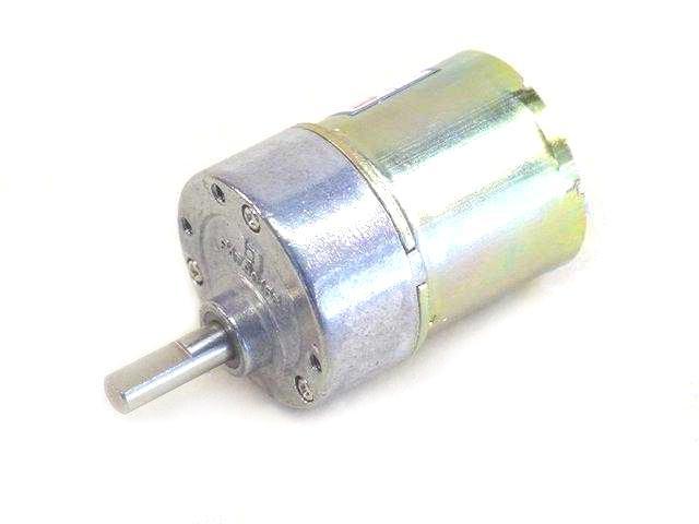 Gear Head Motor 12vdc 50 1 120rpm 6mm Shaft