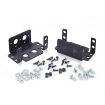 Aluminium Multi-Purpose Rotate Servo Bracket Two Pack (Black)