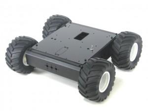 Aluminium 4WD1 Rover Kit (no electronics) - A4WD1-KT