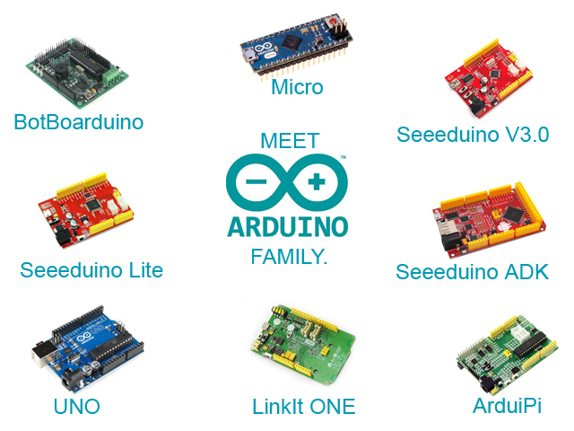 Meet Arduino Family
